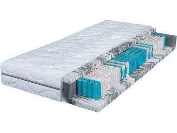 Breckle Taschenfederkernmatratze  »Seasonsleep TFK 1000 Gel«, 100x200 cm, belastbar bis 120 kg, Höhe ca. 25 cm, weiß