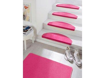 Hanse Home Stufenmatte »Fancy«, 7 mm Gesamthöhe, rosa