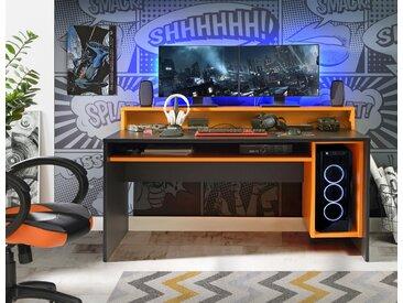 Forte Gamingtisch »Tezaur«, 160x94x69 cm (BxHxT)