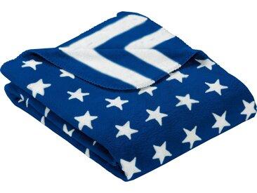 Goldmond Wohndecke »Stars & Stripes«, blau