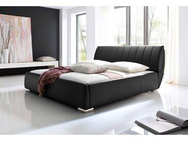 Meise.möbel Polsterbett, schwarz
