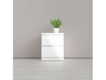 Home Affaire  Nachttisch  »Naia«, 40.4x49.5x50 cm (BxHxT), weiß