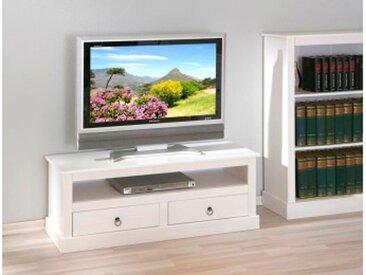 TV-Konsole Provence weiss