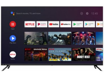 CHIQ LED-Fernseher 43 Zoll U43H7S 4K-UHD Android TV