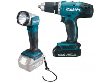 Makita Akku-Set DDF453SYEL
