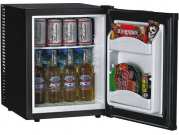 HotelMate Minibar-Kühlschrank MC35A+ schwarz 32 Liter