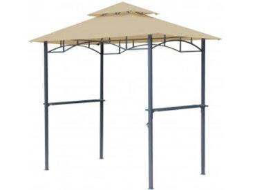 Grasekamp Grillpavillon BBQ beige 1,5 x 2,4m