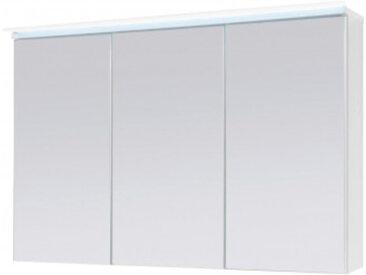 Spiegelschrank weiß, inkl. LED-Beleuchtung, ca. 100 x 68 x 23 cm