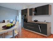 Küchenblock Premium Grau Hochglänzend B/h/t: Ca. 345x220,5x60 Cm