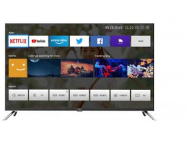 CHIQ LED-Fernseher 43 Zoll U43H7A 4K UHD, Android TV