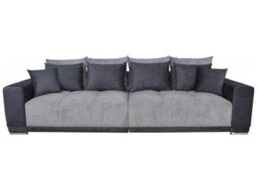Big-Sofa Xantia dunkelgrau,schwarz