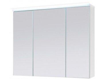 Spiegelschrank weiß, inkl. LED-Beleuchtung, ca. 80 x 68 x 23 cm