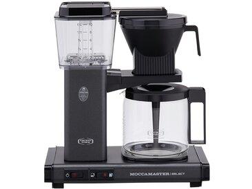 Moccamaster Kaffeautomat  KBG Select Stone Grey ¦ grau ¦