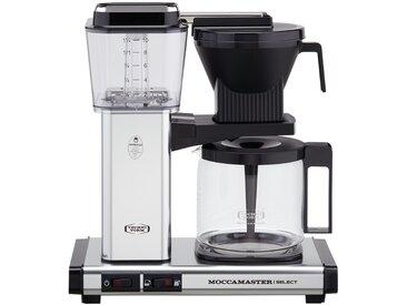 Moccamaster Kaffeautomat  KBG Select Polished Silver ¦ silber ¦