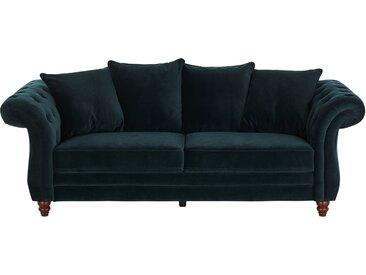 uno Sofa 3-sitzig  Chesterfield Sofa Luna ¦ grün
