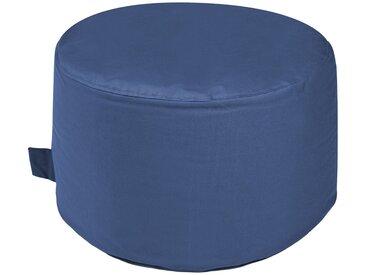 Outbag Sitzsack  Rock Plus ¦ blau ¦ Maße (cm): H: 35 Ø: [60.0]