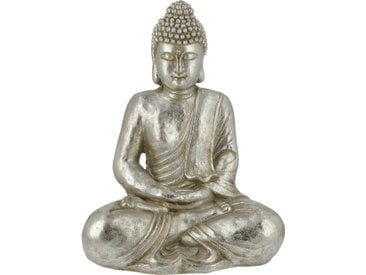 Basispreis* Buddha ¦ silber ¦ Magnesia ¦ Maße (cm): B: 39,3 H: