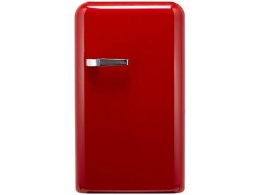 KHG Kühlschrank  KSR-550MG (R) ¦ rot ¦ Metall-lackiert,