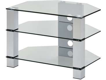 TV-Rack  Merseburg I ¦ transparent/klar ¦ Maße (cm): B: 70 H: 50