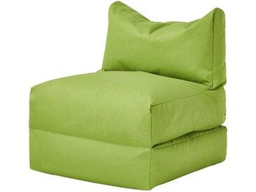 Sitzsack  Boo ¦ grün ¦ Maße (cm): B: 70 H: 80 T: 80