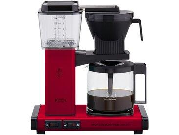 Moccamaster Kaffeautomat  KBG Select Red ¦ rot ¦ Metall-lackiert,