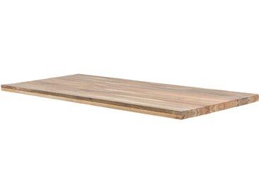 Basispreis* Tischplatte  Tuxa massiv ¦ holzfarben ¦ Massivholz