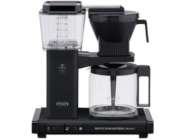 Moccamaster Kaffeautomat  KBG Select Matt Black ¦ schwarz ¦