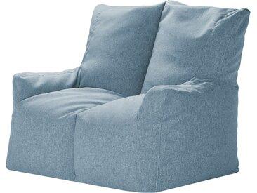 Basispreis* Sitzsack-Sofa  Fiete ¦ blau