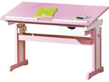 Schreibtisch  Isle ¦ rosa/pink ¦ Maße (cm): B: 109 H: 63 T: 55