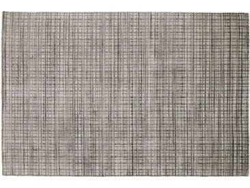Nepal Teppich  Delima Tarek ¦ grau ¦ Wolle, Viskose, 80% Viskose,