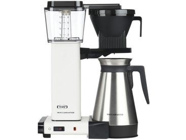 Moccamaster Thermo-Kaffeeautomat  KBGT-Thermos Off-White ¦ weiß ¦