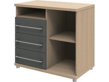 Schreibtischanbau  Techno ¦ holzfarben ¦ Maße (cm): B: 80 H: 72