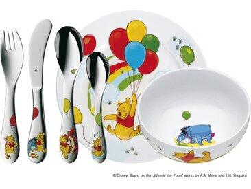 WMF Kindergeschirr, 6-teilig  Winnie the Pooh ¦ mehrfarbig ¦