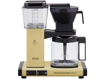 Moccamaster Kaffeautomat  KBG Select Pastel Yellow ¦ gelb ¦