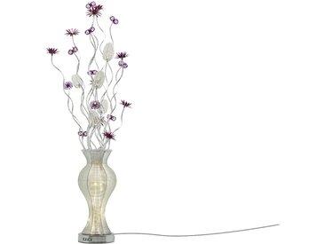 Basispreis* KHG LED-Stehleuchte, Vasenform ¦ silber