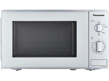 Panasonic Mikrowelle  NN-E221MMEPG ¦ silber ¦ Kunststoff, Glas ,