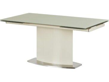 Basispreis* uno Glastisch ausziehbar  Torres ¦ beige ¦ Maße (cm):