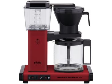 Moccamaster Kaffeautomat  KBG Select Brick Red ¦ rot ¦