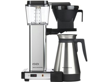 Moccamaster Thermo-Kaffeeautomat  KBGT-Thermos Polished ¦ silber