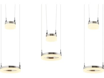 Basispreis* Meisterleuchten LED-Pendelleuchte, 6-flammig, nickel