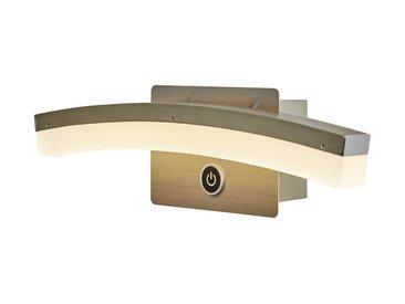 Basispreis* Wofi LED-Wandleuchte, gebogen mit 3-Stufen-Dimmer ¦