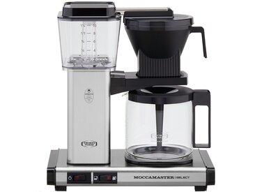 Moccamaster Kaffeautomat  KBG Select Brushed ¦ silber ¦