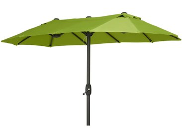 Basispreis* Balkonschirm  Santorini ¦ grün ¦ Maße (cm): B: 170