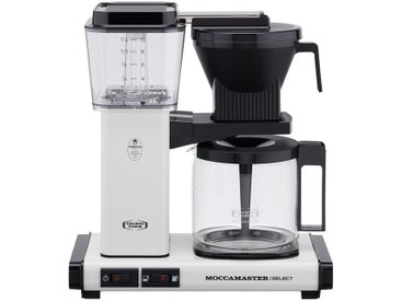 Moccamaster Kaffeautomat  KBG Select Off-white ¦ weiß ¦