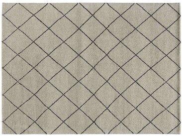 Basispreis* Berber-Teppich  Marrakesh Design simple ¦ grau ¦