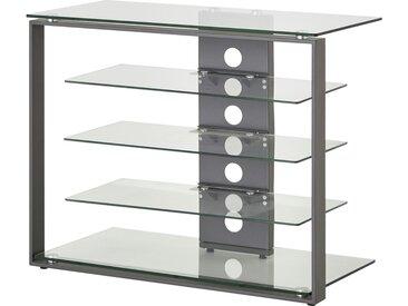 Basispreis* TV-Rack   Ostritz ¦ transparent/klar ¦ Maße (cm): B: