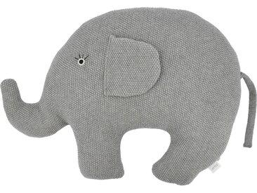 Basispreis* Kuscheltier  Little Elefant ¦ grau ¦ Füllung aus 100%