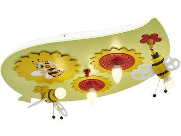 Basispreis* Deckenleuchte, Sonnenblume mit Biene ¦ grün ¦ Maße