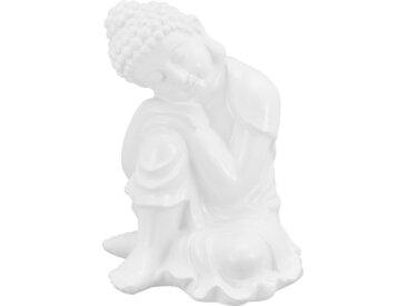 Basispreis* Buddha ¦ weiß ¦ Dolomite ¦ Maße (cm): B: 22,2 H: 29