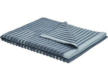 VOSSEN Saunatuch  Camden ¦ blau ¦ 80% Baumwolle, 20% Polyester